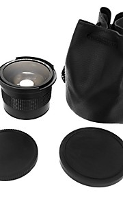 0.35x 58mm Super Fisheye Wide Angle LensMacro lens for 58mm Canon 70D 60D 7D 6D 700D 650D 600D 550D 500D 1100D 1000D