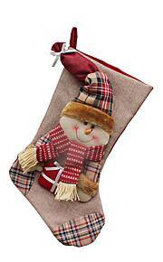 Joulukoristeet / Joululelut Lomatarvikkeet Joulupukki-asu / Hirvi / Lumiukko Tekstiili Hopea / Kameli Kaikki