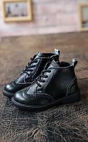 Boy's Boots Others Cowhide Casual Black