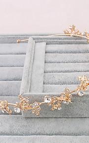 Donne Perle false Copricapo-Matrimonio / Occasioni speciali / Casual / All'aperto Tiare 1 pezzo