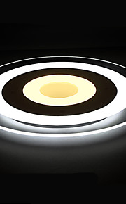 20W Flush Mount ,  Modern/Contemporary Others Feature for Crystal / LED / Designers AcrylicLiving Room / Bedroom / Dining Room / Study