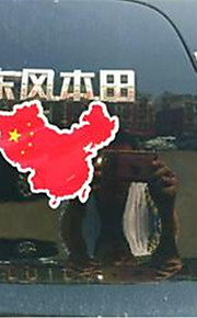 cinque stelle bandiera rossa patriottico adesivi per auto bandiera contrassegno copertura