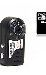 Other Plastik Mini Camcorder 1080P / Mikrofon Sort 1.4