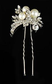 Women's Rhinestone / Alloy Headpiece-Wedding / Special Occasion / Casual / Outdoor Hair Pin 1 Piece