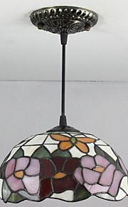 25W Hängande lampor ,  Tiffany / Kontor/företag Målning Särdrag for Ministil Glas Bedroom / Kök