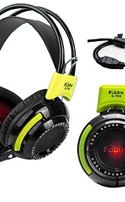Kubite KT03 Hoofdtelefoons (hoofdband)ForMediaspeler/tablet / Mobiele telefoon / ComputerWithmet microfoon / Volume Controle / Gaming /