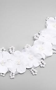 Femme Imitation de perle / Mousseline / Filet Casque-Mariage / Occasion spéciale Serre-tête 1 Pièce