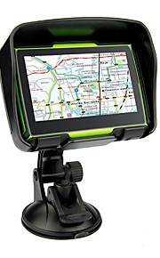 2016 caldo 4.3 pollici di navigazione GPS per auto moto GPS IPX7 impermeabile memroy interna da 8 GB per le mappe di moto della maggior
