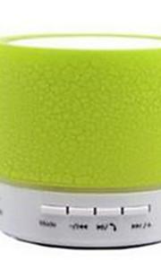 Colorful Dazzle Lamp A9 Crack Bluetooth Speaker Mini Portable Car Audio