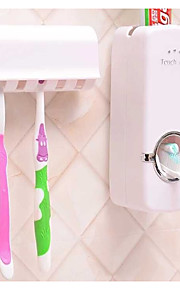 Mouthwash Wash Gargle Suit /Creative Automatic Toothpaste Toothbrush Rack With Five