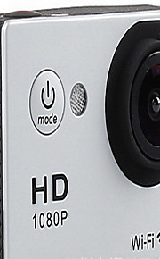 Actiecamera / Sportcamera 12MP / 8MP / 5MP 640 x 480 / 1024 x 768 WIFI / Multifunctioneel / Draadloos 1.5 / 2Enkele opname / Burstmodus /