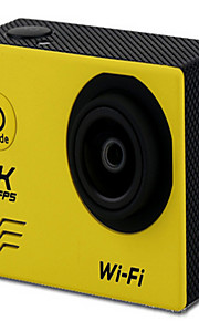 v60 Actiecamera / Sportcamera 20MP 4608 x 3456 WIFI / Verstelbaar / Draadloos / Groothoek 30fps Neen ± 2EV Neen CMOS 32 GB H.264