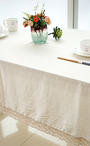 Square Solid Table Cloth , Linen / Cotton Blend MaterialWedding Party Decoration / Christmas Decor Favor / Table Decoration / Weddings /