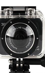 X360WIFI Actiecamera / Sportcamera 20MP 4608 x 3456 WIFI / Verstelbaar / Draadloos / Groothoek 30fps Neen ± 2EV Neen CMOS 32 GB H.264