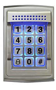 125khz RFID adgangskontrol noctilucent tastatur-system adgangskontrol