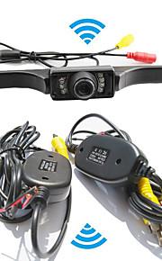 Parkeringshjælp systemet trådløs bil bakkamera auto ir ccd hd ede vende universel backup kamera vandtæt nattesyn