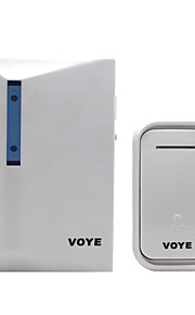 Plastik Ikke-visuelle doorbell Trådløs dørklokken Systems