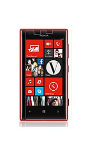 hög transparens hd lcd skärmskydd för Nokia Lumia 720 (3 st)