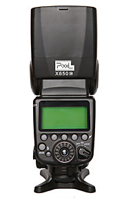 PIXEL® X650C lights flash with  high speed synchronization for Canon DSLR gm 5D3/6D/7D