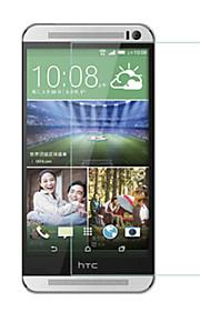 huyshe lätt installera anti scratch vattentät anti-fingeravtryck härdat glas skärmskydd för HTC One m9