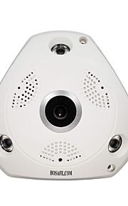 HOSAFE 1.3 MP Kuppel Indendørs with IR-cut 32(Dag Nat Motion Detection Dobbeltstrømspumpe Fjernadgang IR-klip Wi-Fi Beskyttet Setup Plug