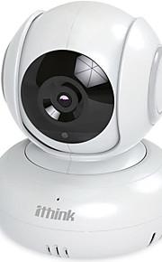 Ithink 1m pixel pan tilt cmos Wireless HD kamera med motion detection og nattesyn