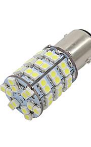 10x hvid 60smd 3528 førte T25 1157 bay15d bremse stopsignal lys lampe pærer ny