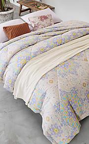 Цветы Стеганныеодеяла материал Queen (Ш 224 x Д 234 см) 1 простынь