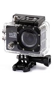 Actiecamera / Sportcamera 4608 x 3456 WIFI Waterbestendig Anti-schok 2 CMOS 32 GB H.264 30 M Universeel Reizen