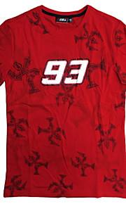 vestiti moto maniche corte in cotone T-shirt unisex traspirante estate