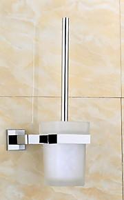 Toilet Brushes & Holders Modern Square Stainless Steel