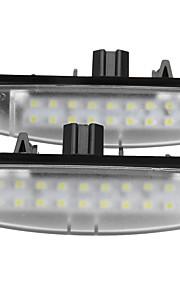 2 x førte nummerplade lys lampe til Toyota Camry ekko lexus er ls gs es rx