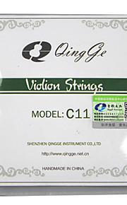 профессиональный Стринги Высший класс Скрипка Новый инструмент Металл Аксессуары для музыкальных инструментов Серебристый