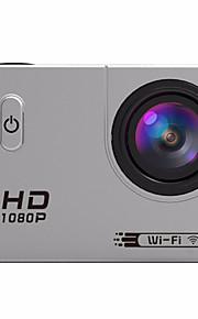 Actiecamera / Sportcamera 12MP 1920 x 1080 WIFI Waterbestendig Alles in één Draadloos Groothoek Multifunctioneel60fps 120 fps 30fps