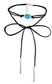 Colliers Tendance Sans pierre Collier court /Ras-du-cou Bijoux Soirée Halloween Anniversaire Quotidien Décontracté Forme Géométrique