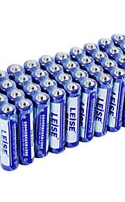 leise lst7aaa-40 aaa zinc de carbono de la batería de 1,5 V 40 paquete