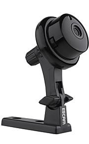 escam® knap q6 1,0 mp mini indendørs med tovejs audio 128g tf bevægelsesregistrering dual stream ir-cut ip kamera