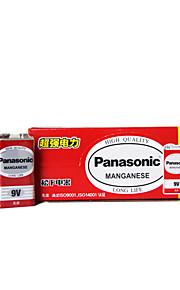 Panasonic 6F22ND 9v zinc de carbono de la batería 10 pack