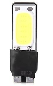 1pcs t10 can-bus foutloos geleid cob lamp witte kleur