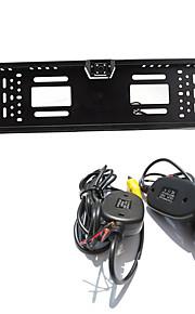Parkeringshjælp systemet trådløs bil bakkamera auto 4led ccd 1080p hd ede vende universel backup kamera vandtæt nattesyn