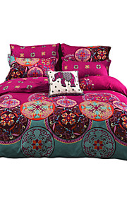 Novelty Duvet Cover Sets 3 Piece Polyester Luxury Reactive Print Polyester Twin Full Queen King 1pc Duvet Cover 2pcs Shams