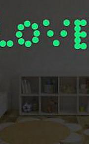 Forma Adesivi murali Adesivi luminosi da parete Adesivi decorativi da parete,Vinile Materiale Decorazioni per la casa Sticker murale