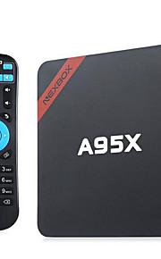 TV Box Android 5.1 nero 802.11 b/g/n Wi-Fi