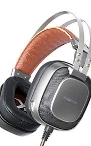 xiberia K10 stereo gaming headset met microfoon casque mic / ademhaling licht beste hoofdband spel hoofdtelefoon voor pc gamer