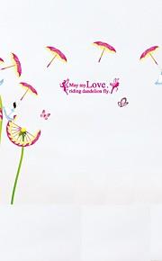 Tiere Botanisch Blumen Wand-Sticker Flugzeug-Wand Sticker 3D Wand Sticker Dekorative Wand Sticker Foto Sticker,Papier Vinyl StoffHaus