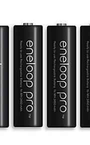 eneloop 3hcca batería de hidruro de metal de níquel aa 1.2v 2450mAh 4 paquete
