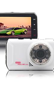 naway® auto DVR 170 graden dual lens 3 inch groothoek infrarood nachtzicht lus videorecorder g-meetorgaan parking bewaking registrator