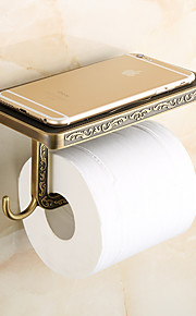 Facial Tissue Holders Neoclassical Zinc Alloy