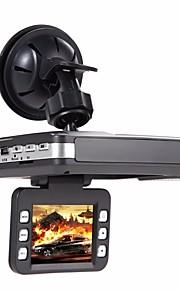 (Met Russische voice) HD auto DVR radardetector gps tracker 3 in 1 720p dash cam video registrator g-sensor autocamera recorder