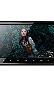 10,1 tommer 1024 * 600 HD digital TFT skærm ultra-tynde design touch-knap bil hovedstøtte dvd-afspiller med USB / SD / FM / ir / trådløs